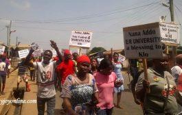 Krobo Chief snubs pro-NDC demonstrators petition