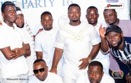 Ghanaian stars campaign for peace at 2016 DJ Mensah all white party
