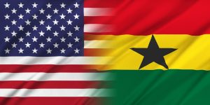 Relations between two countries. USA and Ghana
