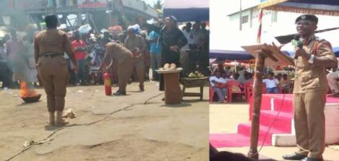 GNFS intensifies fire education efforts at Kaneshie market By GNA