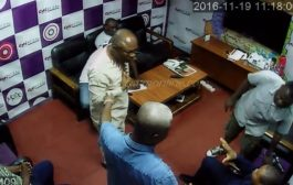 Angry Woyome, aides, storm Citi FM studio
