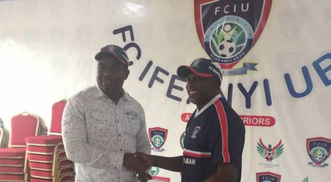 Yaw Preko appointed assistant coach/physical trainer at FC Ifeanyi Ubah