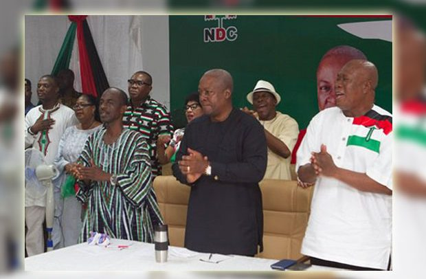 'Retreat is not defeat': General Mosquito promises NDC return in 2020