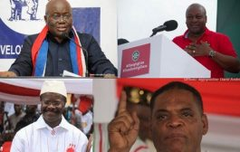 The distressed seven: 15 million decide Ghana's future today