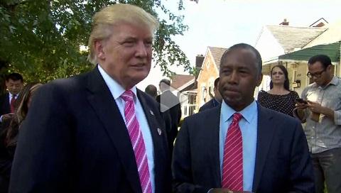 Trump taps Ben Carson for HUD secretary