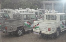 NDC Party vehicle at polling station sparks controversy
