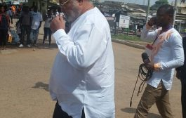 Ex-President Rawlings votes at Klottey Korle
