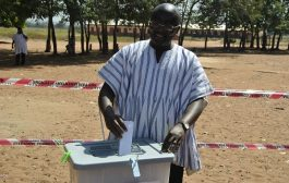 Bawumia votes in Walewale