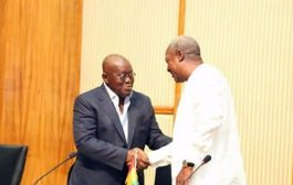 Handing over to Akufo-Addo-led government starts today