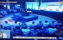 Six candidates battle for supremacy in GBC, NCCE 2016 Prsidential Debate