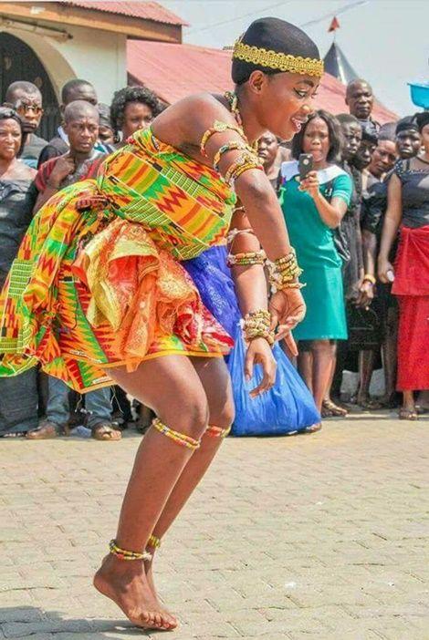 Asanteman Bids Final Adieu to Asantehemaa Today (Photos)