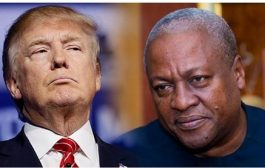 Mahama criticises Donald Trump