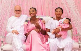 See Fab Photos Of Celebrities, Food, Cakes And Everything That Happened At The Naming Ceremony Of Kafui Danku's Daughter