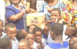 Gender Minister designate marks birthday at Osu Children's Home
