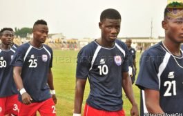 Inter Allies striker Ropapa Mensah hails promising start against Hearts of Oak