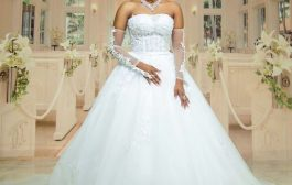Photos: Actress Victoria Lebene Might Wear This Gown For Her Wedding With Kofi Adjorlolo