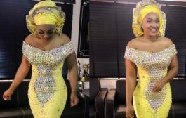 Mercy Aigbe Steps out with Hubby Looking Fab