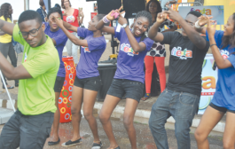 Azonto dance concert at James Town