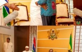 Gambian President thanks President Akufo-Addo for defending country's democracy