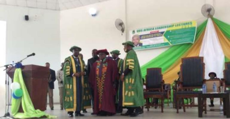 Presidents calls for UDS Peace and Security Centre