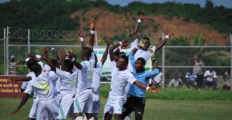 Match Report: Elmina Sharks 1-0 Ebusua Dwarfs- Sharks swallow Dwarfs in regional derby