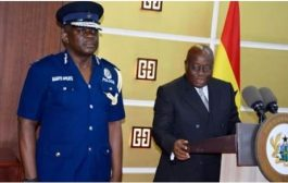 Akufo-Addo retires IGP in eleven days