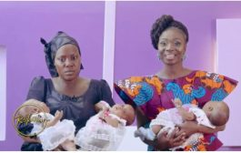 Stacy Amoateng Calls For Help For Widow With Triplets And Four Other Kids