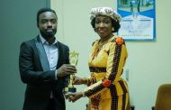 Mrs Rawlings Receives RTP Honorary Award