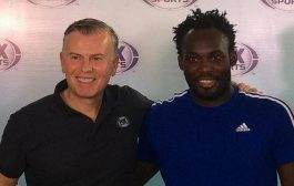 Michael Essien Works As TV Pundit In Indonesia