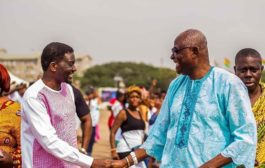 Agyinasare Calls On Osu Mantse...Pledges Four Scholarships For The Needy