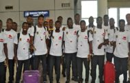 PHOTOS... Asante Kotoko Arrive In Ghana After CAF Confederation Cup Exit