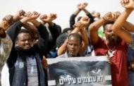 Hundreds of African migrants protest Israel detentions