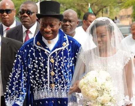 Goodluck Jonathan's daughter's grand wedding 4 years ago
