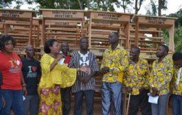 Agona East MP Donates 500 Dual Desks To School