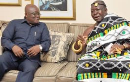 President Akufo-Addo Holds In-Camera Talks With Asantehene Otumfuo