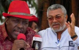 Rawlings, Bagbin Hailed In The Volta Region