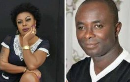 Photo: Afia Schwar In Another Sex Scandal With Peace FM's Kwasi Aboagye