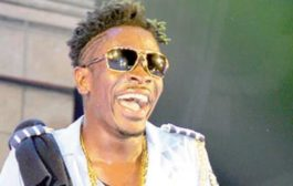 Video: Shatta Wale Goes Gaga; Displays His Huge 'Stick'