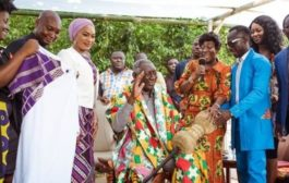 Photos: Kufuor launches AU Arts Festival; Menzgold boss donates $100,000