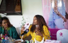 'Fall in love with his vision not his wallet' book by Mercy Balogun launched