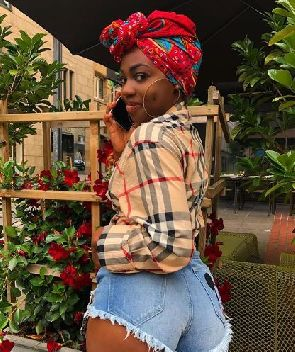 Ghanaian model leaks 'private chat' with footballer Kwadwo Asamoah