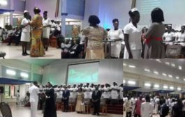 Valley View University Inducts 112 Nurses