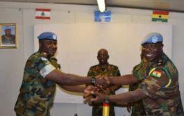 UNIFIL GHANBATT 85 Takes Over Command