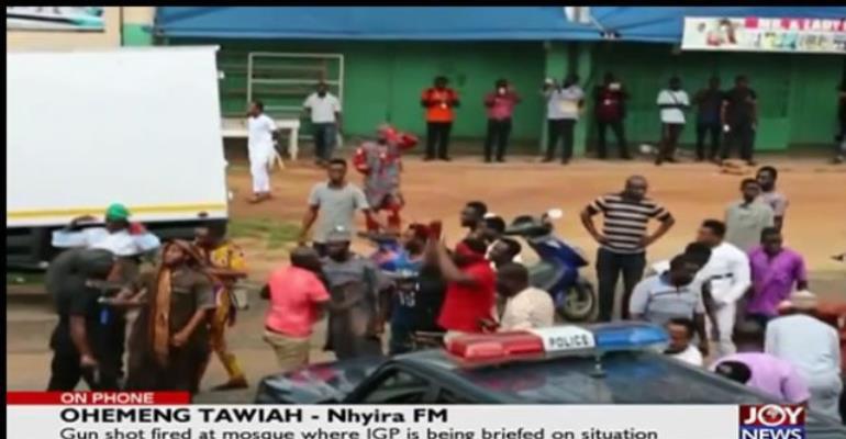 Gunshots Disperse Angry Crowd At Asawase