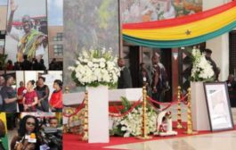 Ghanaians Pay Their Last Respect To Amissah-Arthur