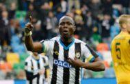 Udinese Star Emmanuel Agyemang-Badu To Miss Start Of Serie A Season