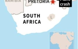 19 injured in S.Africa plane crash: emergency services