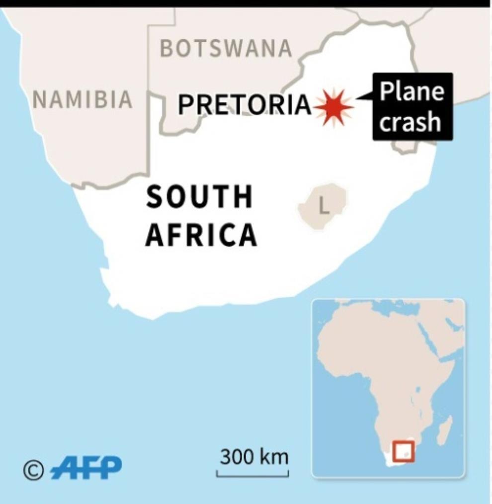 19 injured in S.Africa plane crash: emergency services