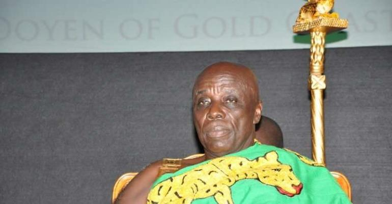 Okyenhene Rubbishes Pulling 500 Down Houses In Kyebi