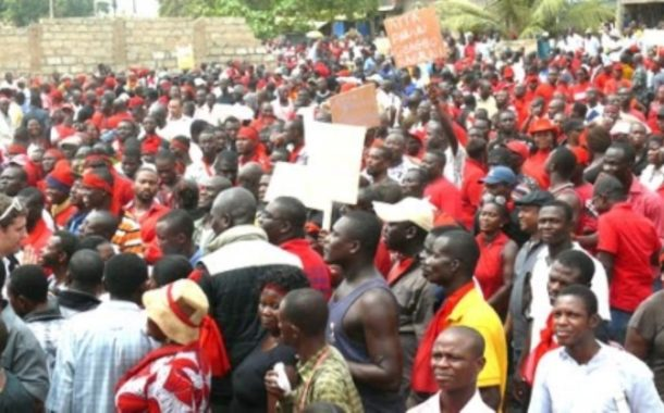 Massive Demonstration Hits Bolga Over Poor Roads